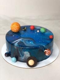 """Муссовый торт """"Космос"""""""