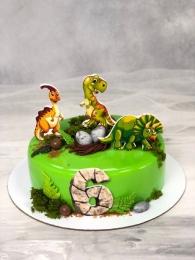 """Муссовый торт """"Динозаврики"""""""
