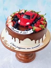 Автомобиль в ягодах