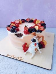 Милый пес ягодный