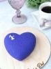 Муссовое сердце в синем