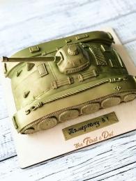 Настоящий танк