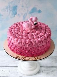 Одинокий фламинго