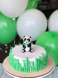 Панда и бамбук