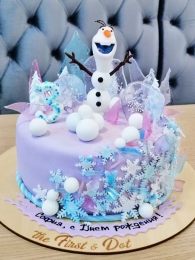 Поздравления снеговика