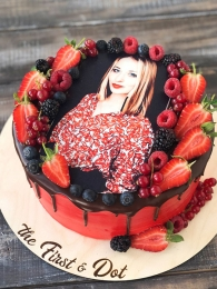 Торт с фотографией
